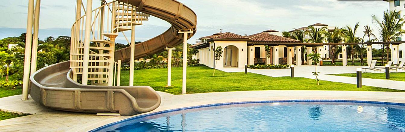 Custom Pool Slides